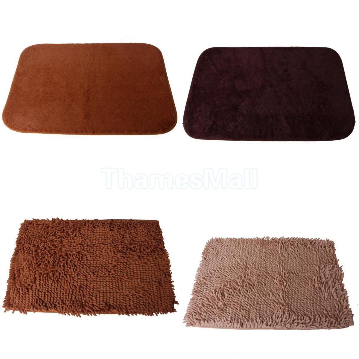 thick plush non slip absorbent floor carpet mat shaggy rug