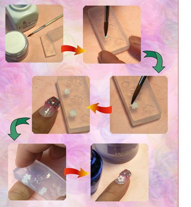 Supplies for nail art
